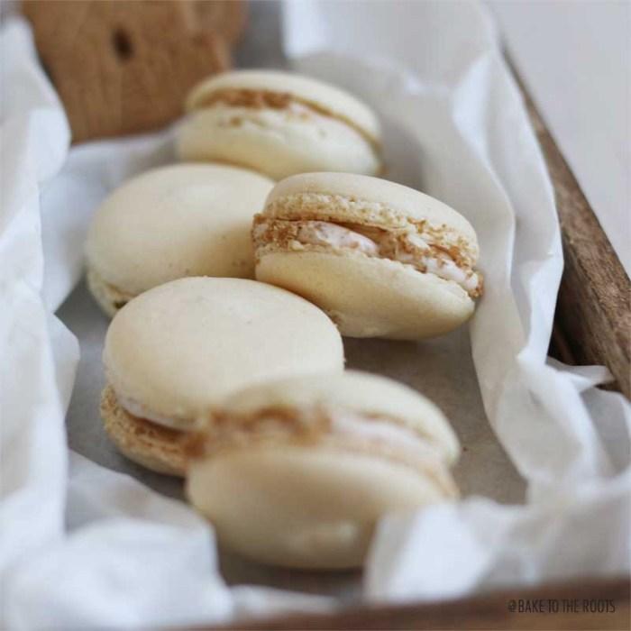 Spekulatius Macarons | Bake to the roots