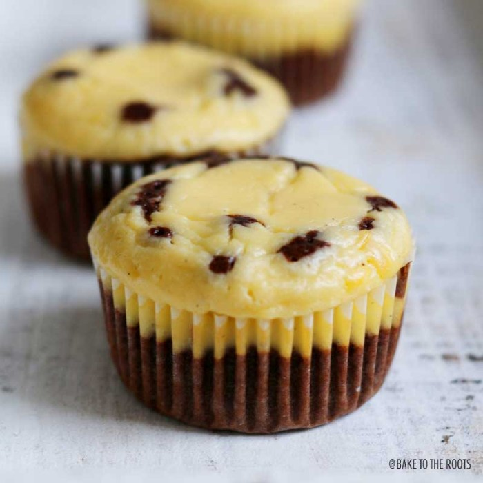 Mini Chocolate Cheesecake Cakes | Bake to the roots