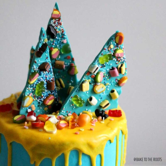 Haribo Mile High Cake | Bake to the roots