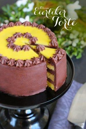 Kleine Eierlikör Torte
