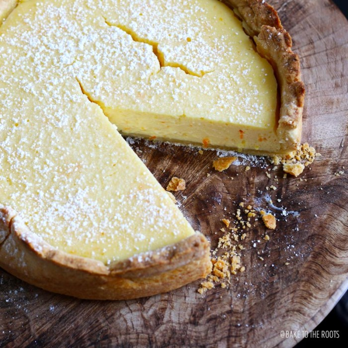 Orange Lemon Ricotta Cake | Bake to the roots