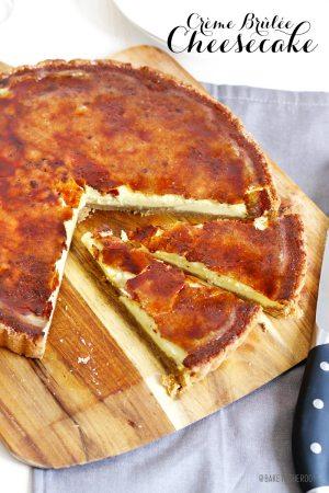 Crème Brûlée Cheesecake