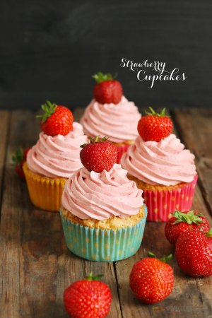 Very Strawberry Cupcakes 2.0