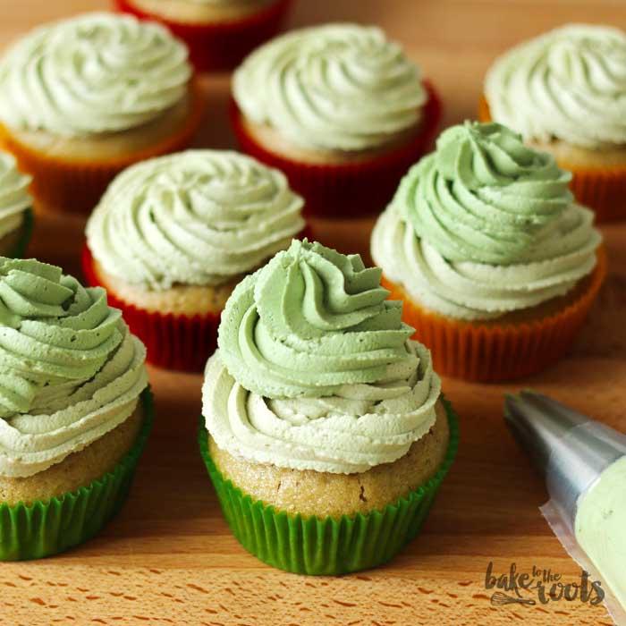 Vegan Matcha Cupcakes   Bake to the roots