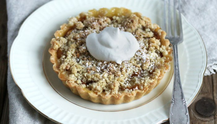 Mirabelle Plum Streusel Tartlets   Bake to the roots