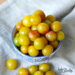 Mirabelle Plum Streusel Tartlets | Bake to the roots