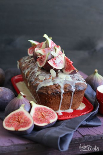 Tea Cake with Almonds and Figs | Bake to the roots