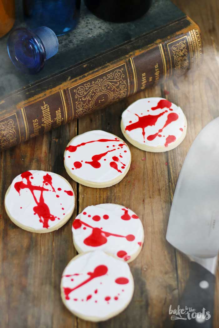 """Halloween Cookies """"Bloody Mess"""" 