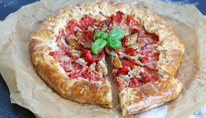 Tomato & Plum Galette   Bake to the roots