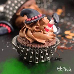 "Halloween Chili Chocolate Cupcakes ""Wicked Witches of the East"" 