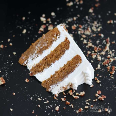 Vegan Carrot Cake | Bake to the roots