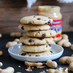 Peanut Butter Chocolate Chip Cookies   Bake to the roots