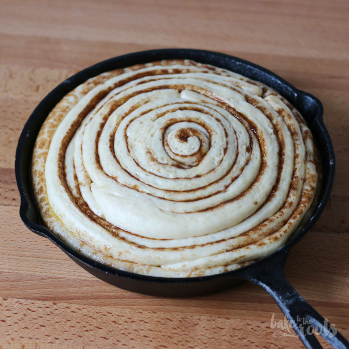 Cinnamon Roll Cake   Bake to the roots