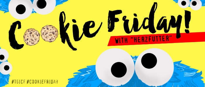 """Cookie Friday with """"Herzfutter"""""""