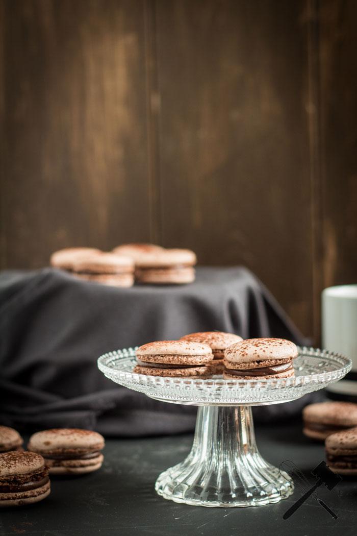 "Schokoladen Macarons | Cookie Friday mit ""Law of Baking"""