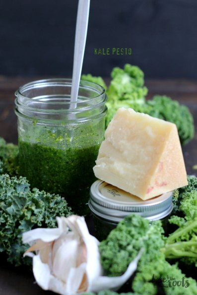 Kale Pesto   Bake to the roots