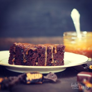 Toffee Apple Brownies   Bake to the roots