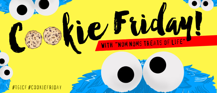 "Cookie Friday with ""Nom Noms Treats of Life"""
