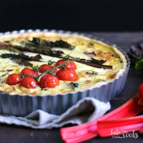 Swiss Chard Quiche   Bake to the roots