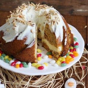 Carrot Cake Cheesecake Gugelhupf | Bake to the roots