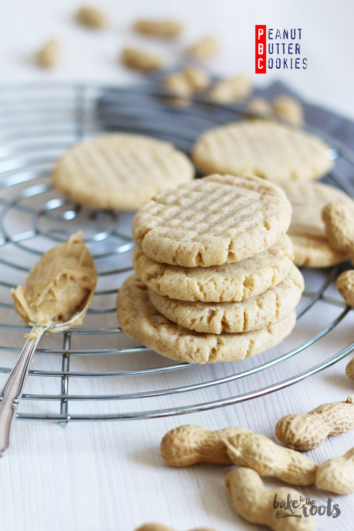Peanut Butter Cookies   Bake to the roots