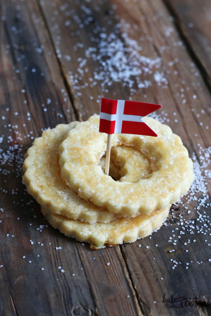Danish Butter Cookies | Bake to the roots