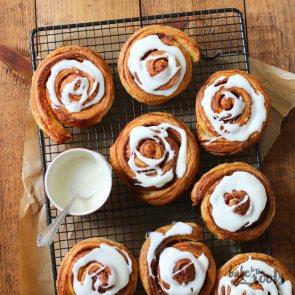 Kanel Snegle aka. Cinnamon Rolls | Bake to the roots