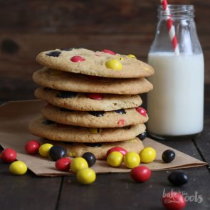 M&M's Peanut Cookies | Bake to the roots