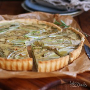 Fennel Coconut Tart | Bake to the roots