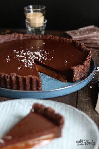Baileys Caramel Chocolate Tart   Bake to the roots