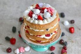 Eton Mess Cake   Bake to the roots