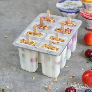 Skyr Popsicles | Bake to the roots
