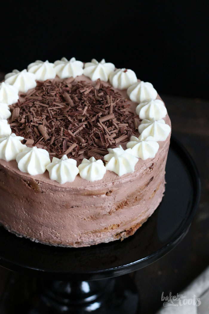 Chocolate Chip Cookie Mascarpone Cake   Bake to the roots