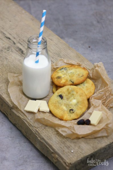 White Chocolate Cranberry Cookies   Bake to the roots