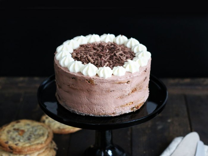 chocolate chip cookie mascarpone torte bake to the roots. Black Bedroom Furniture Sets. Home Design Ideas