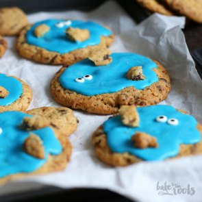 Cookie Monster Cookies | Bake to the roots