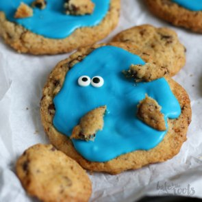 Cookie Monster Cookies   Bake to the roots