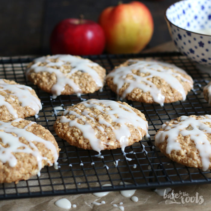 Oatmeal Applesauce Cookies | Bake to the roots