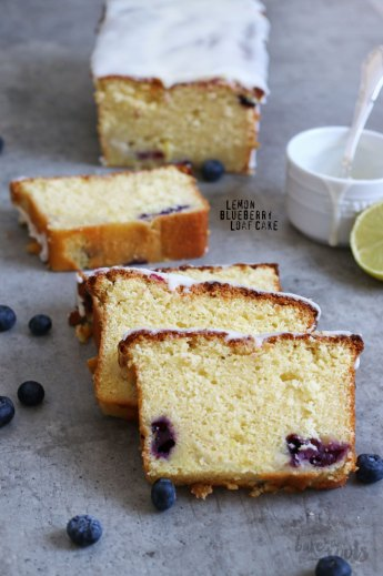 Lemon Blueberry Loaf Cake | Bake to the roots