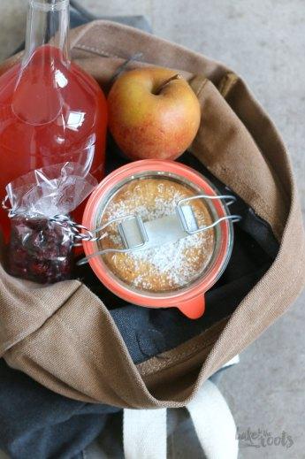 Apfelkuchen im Glas | Bake to the roots