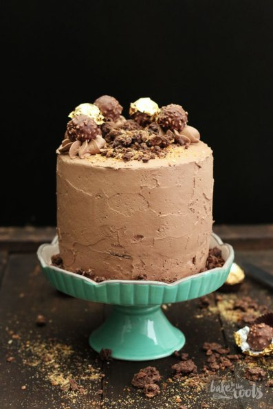 Ferrero Rocher Cake   Bake to the roots