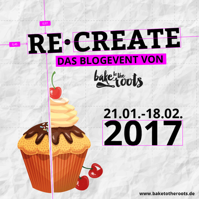 RE•CREATE BloggerEvent | Bake to the roots