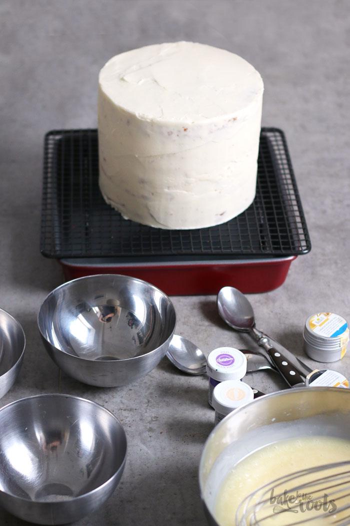 Jam Cake With Buttermilk Glaze
