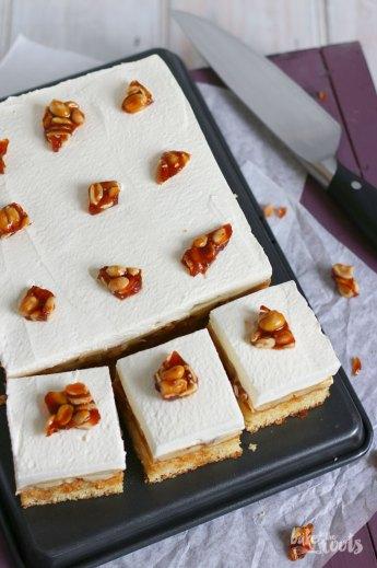 Banana Cream Pie Blechkuchen   Bake to the roots