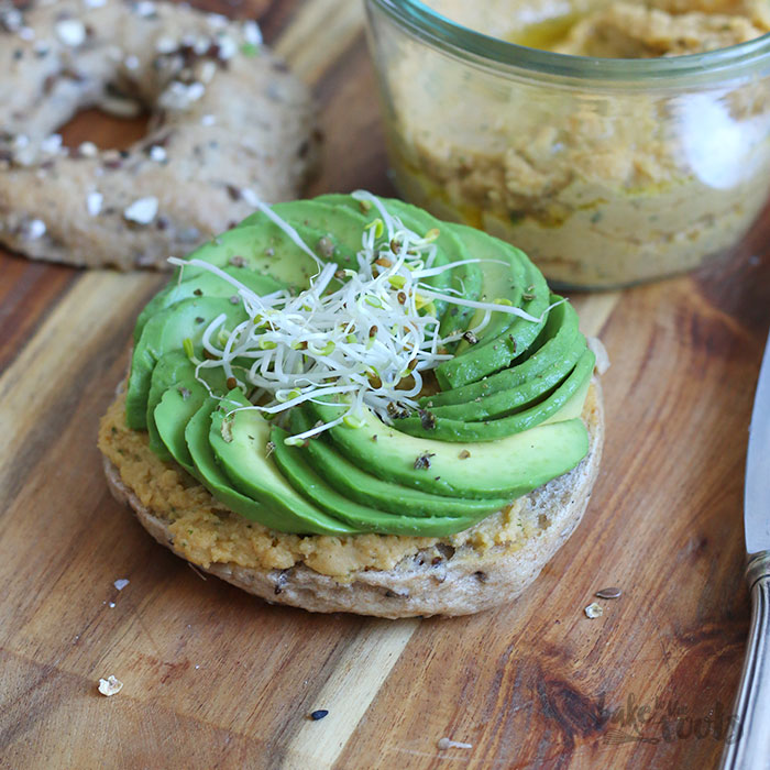 Homemade Vollkorn Bagel | Bake to the roots