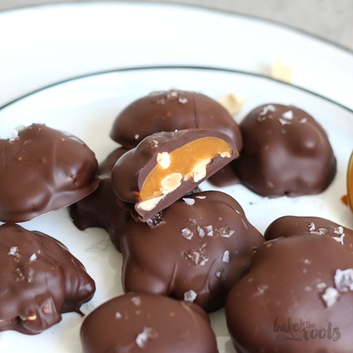 Caramel Nut Clusters   Bake to the roots