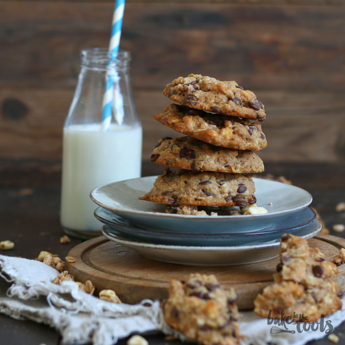 Vegane Müsli Cookies | Bake to the roots
