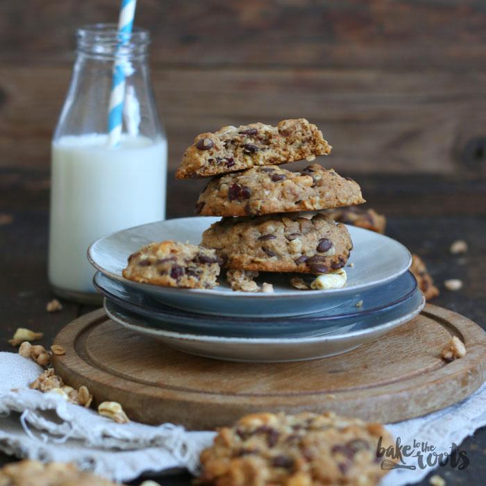 Vegane Müsli Cookies   Bake to the roots