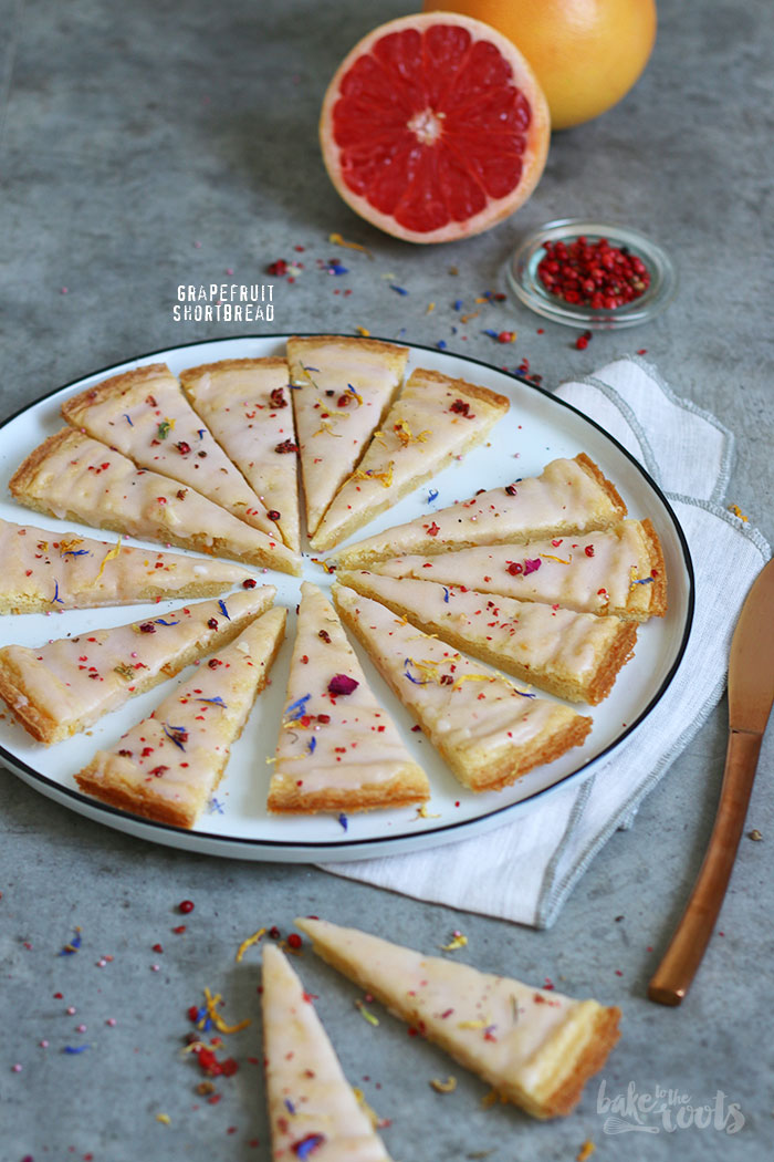 Grapefruit Shortbread | Bake to the roots