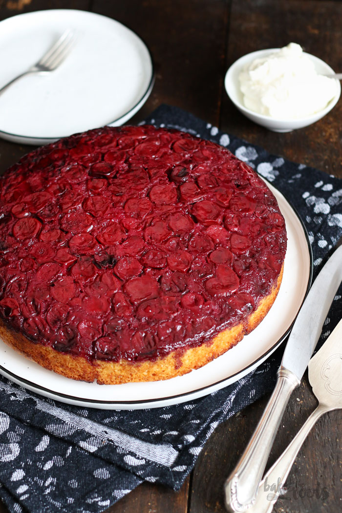 Cherry Upside Down Cake   Bake to the roots